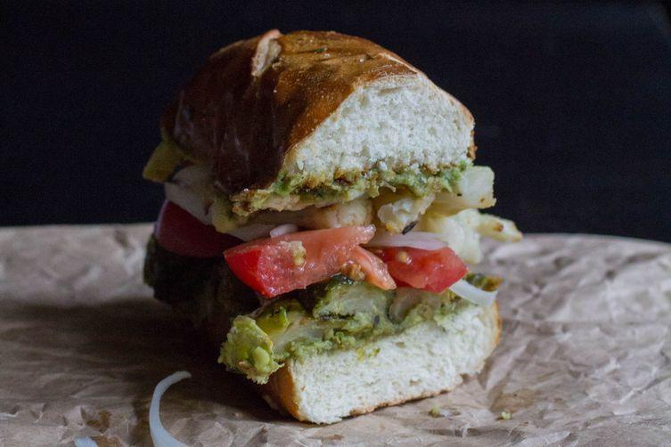 Loaded Roasted VeggieSandwich 1