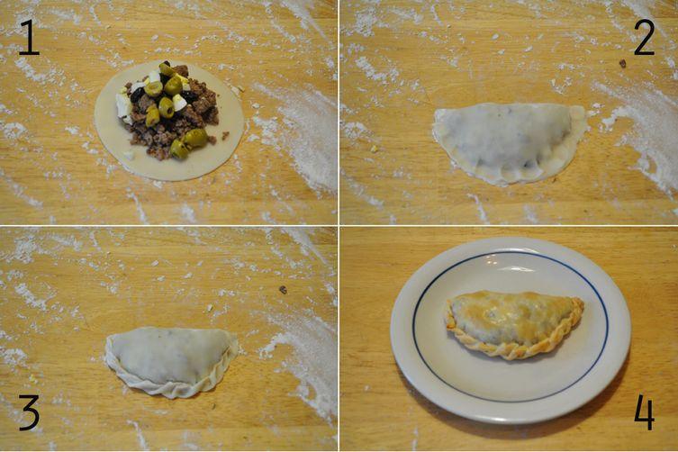 masa simple para empanadas (empanadadough)