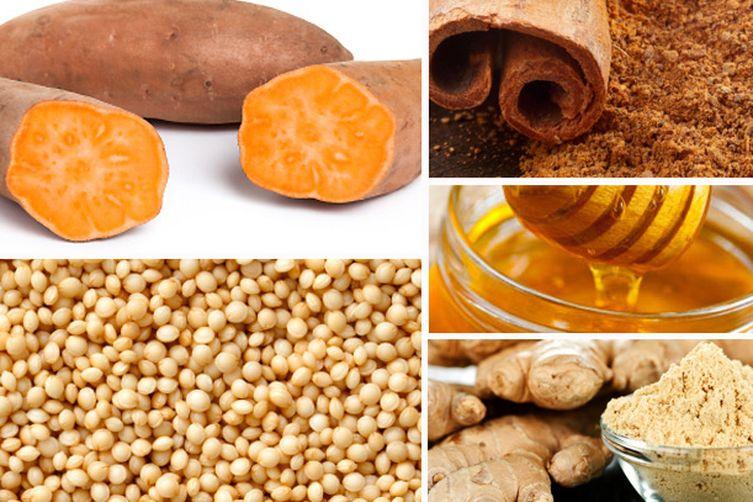 Roasted Sweet Potato AmaranthPorridge 1