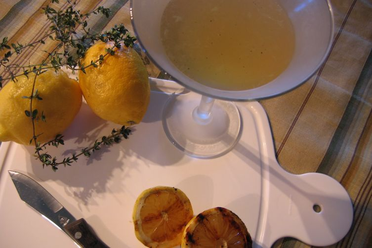 """Thyme for a """"Grilled"""" LemonMartini 1"""