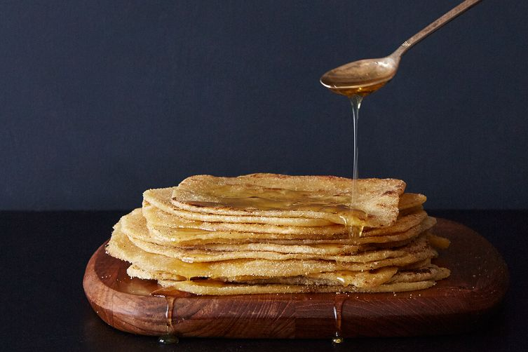 Crispy Moroccan Pancakes(M'smmen) 1