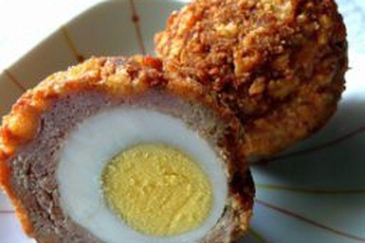 Scotch Egged Turkey MeatBalls 1