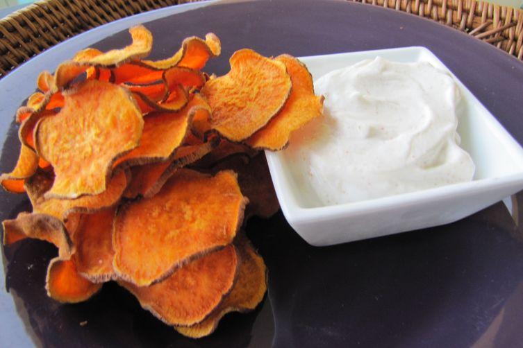 Sweet PotatoChips 1