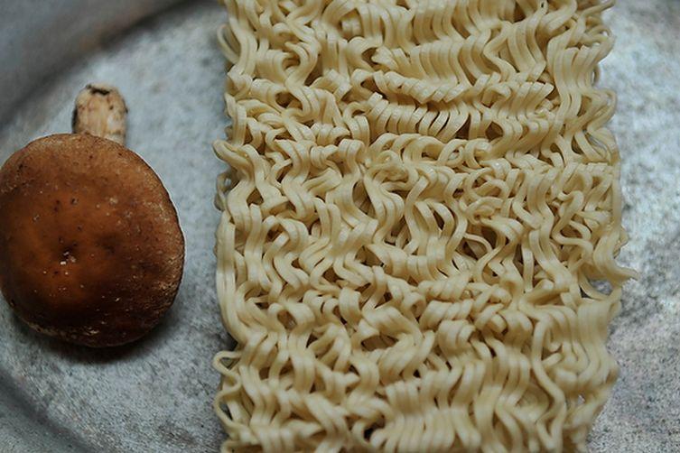Ramen Stir-fry with Sesame, Shiitake, &Ginger 1