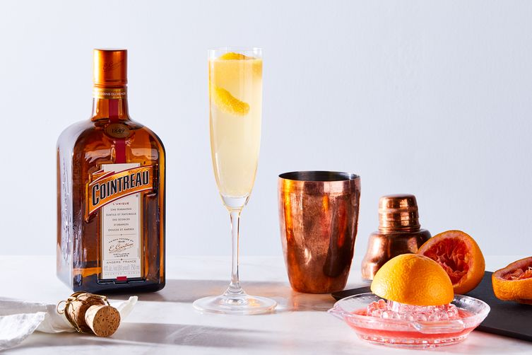 Kiss the Ring, a Riff on the French 75 1