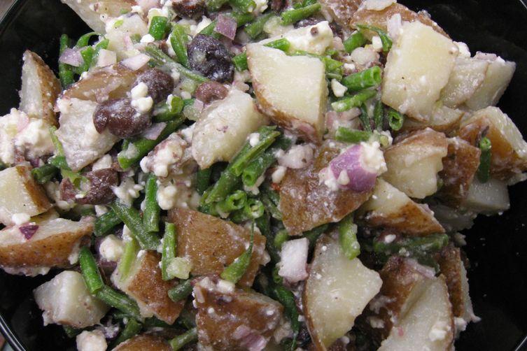 Potato (Plus) Salad with Champagne-Honeydew Mignonette 1