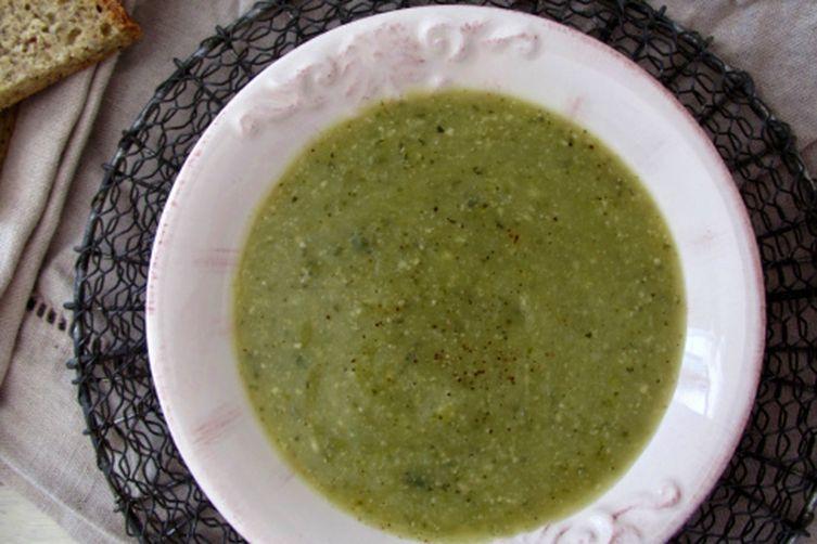Roasted Zucchini + TarragonSoup 1