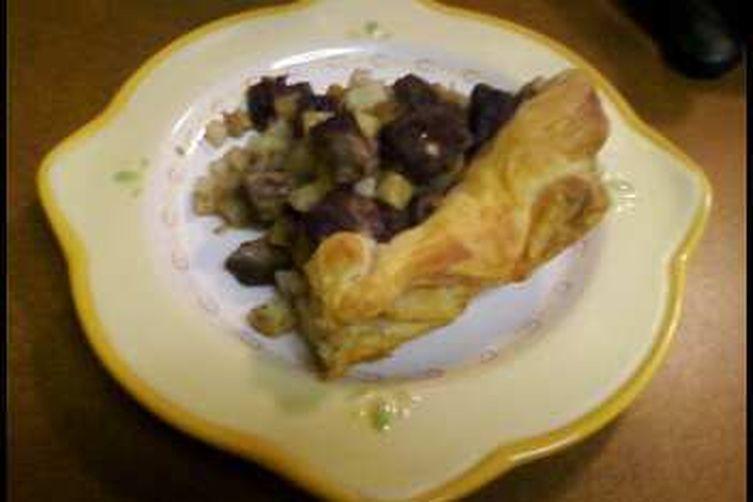 Grandma Foley's Pasty as a RusticTart