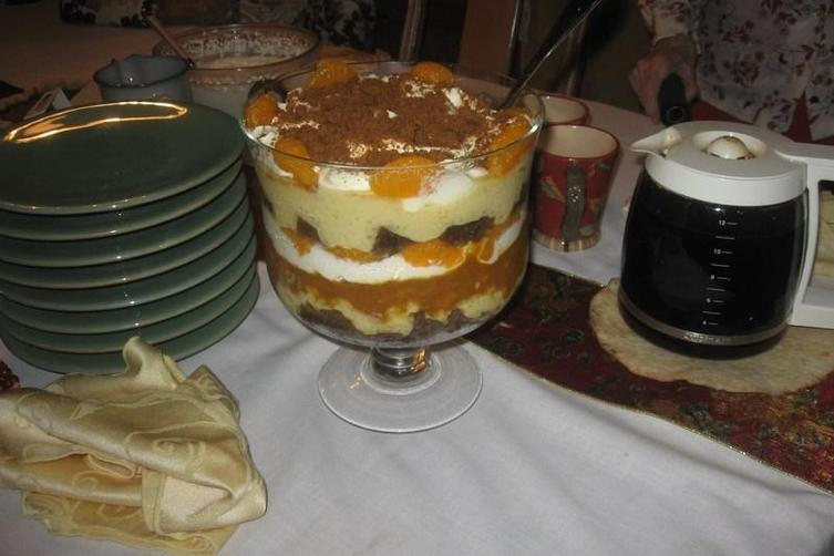 Pumpkin Gingerbread Trifle 1