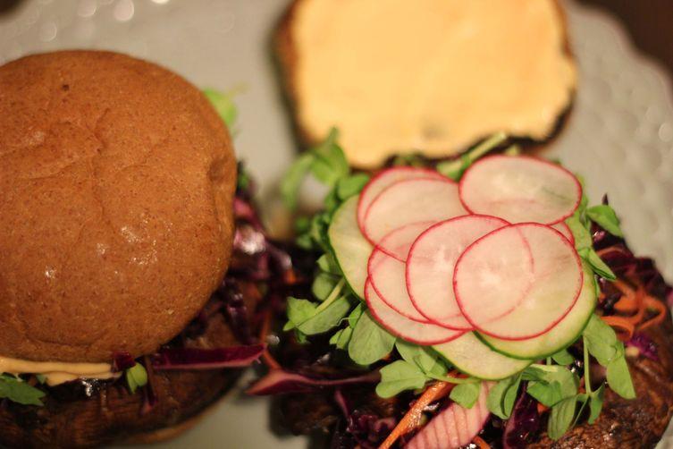 Portabella Burgers That Aren't aSnooze 1