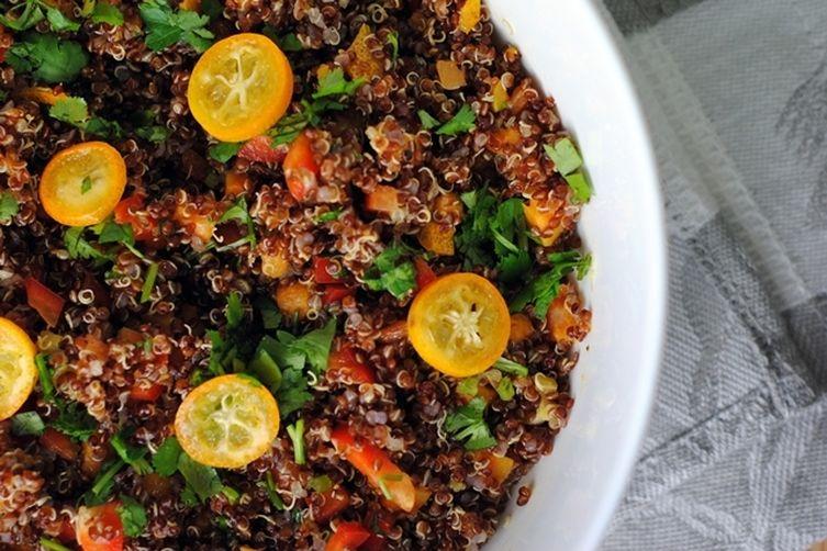 Zesty Red QuinoaSalad 1