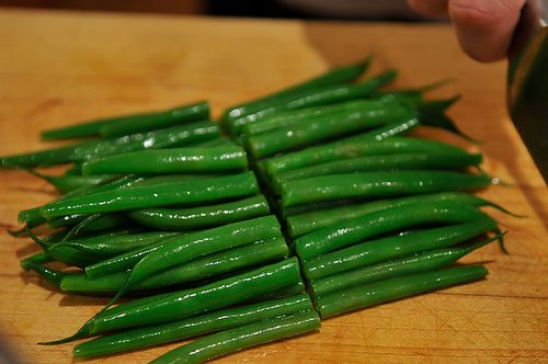 French Bean Salad with Tarragon and GreenPeppercorn