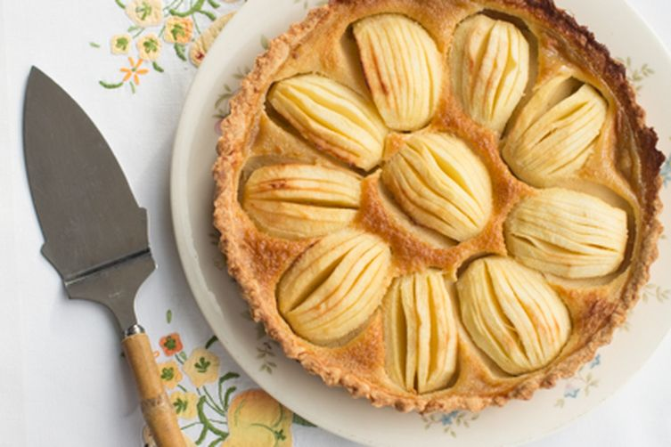 Custard Apple Tart 1