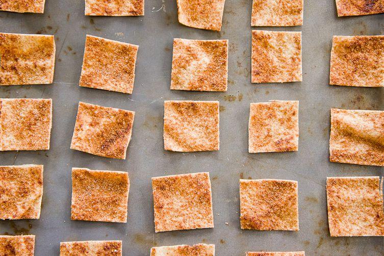 Cinnamon-Sugar PitaChips