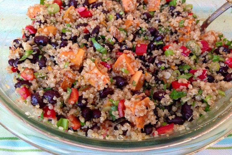 Sweet Potato and Black Bean Quinoa Salad 1