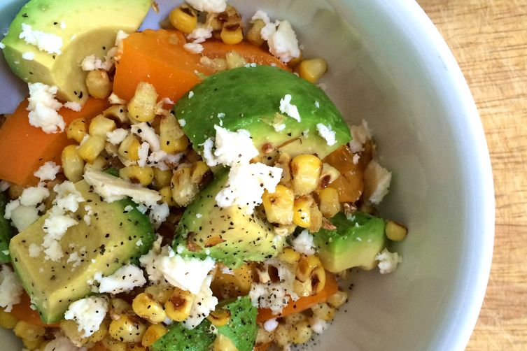 Avocado and Roasted CornSalsa 1