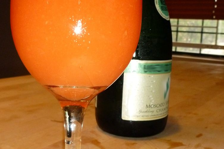 Frosted Ginger PeachBellini 1