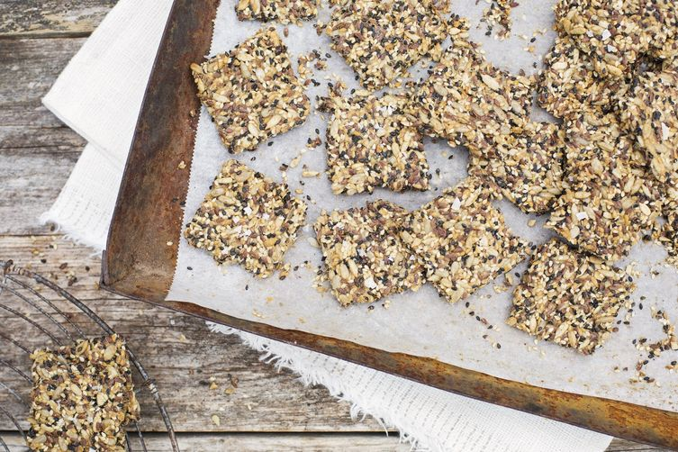 Orange-Kissed Seed Crackers 1