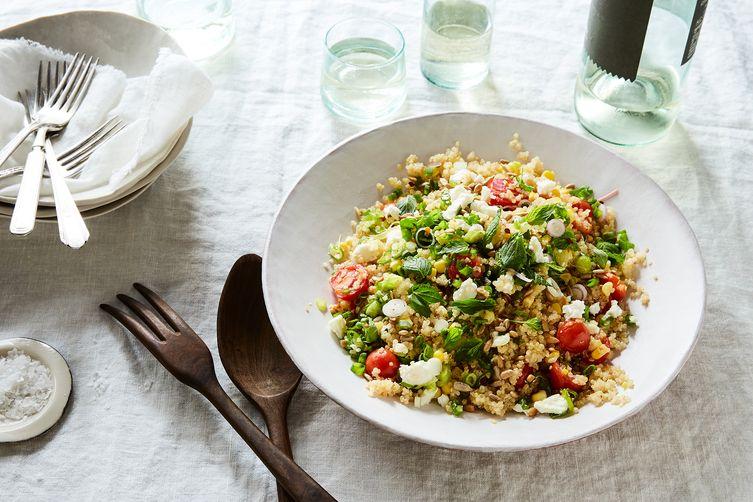 One-Pot Corn, Tomato & QuinoaPilaf 1