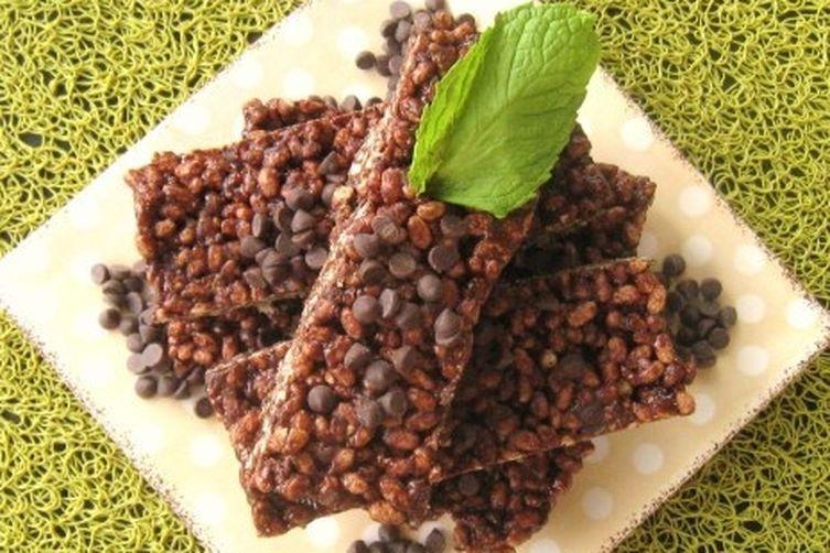 No-Bake Mint Chocolate ChipBars 1
