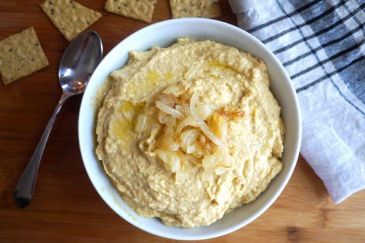 Caramelized OnionHummus 1