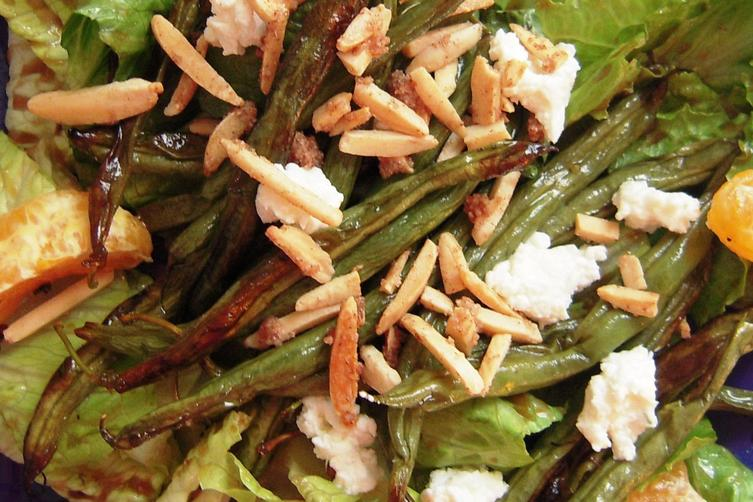 Tangerine and Roasted Green BeanSalad 1
