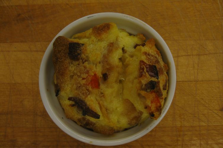 Roasted Carrot & Bacon BreadPudding 1