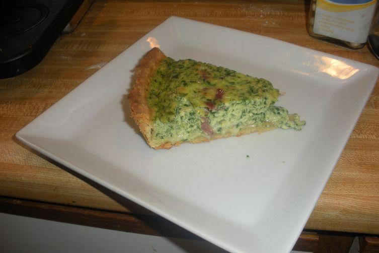 Green Eggs and HamQuiche