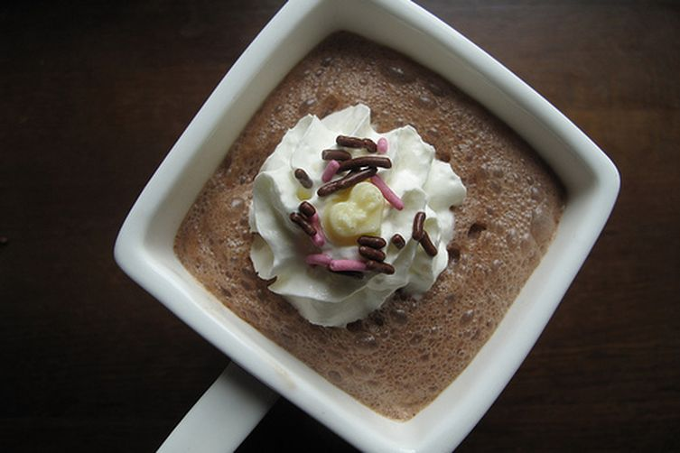 Rose-scented Mexican HotChocolate