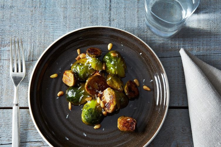Brussels Sprouts with Pine Nuts and Thyme 1