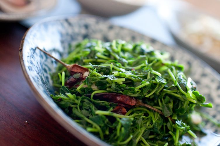 Pea Shoots- Chinesestyle 1