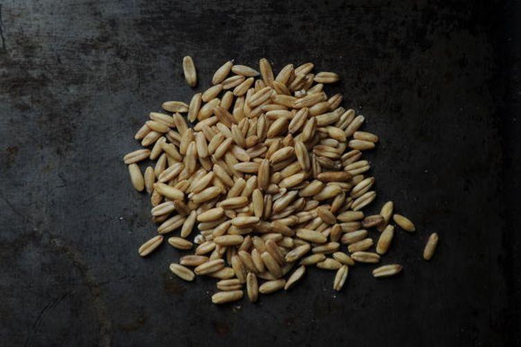 Peas Porridge Hot (Oat Risotto withPeas)