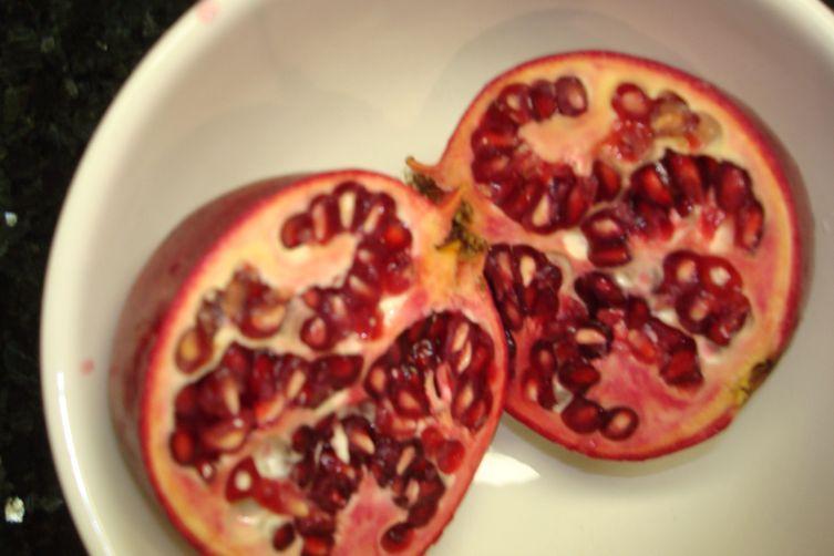 Pink Grapefruit, Pomegranate, & Mâche Salad with Lemon-UmeVinaigrette