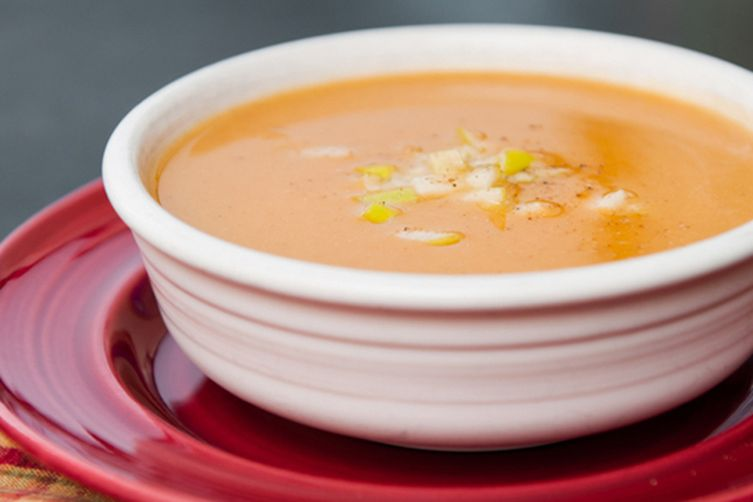 Butternut Squash, Apple, and GingerSoup 1