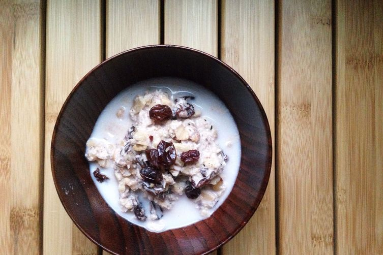 Nutty Fauxnola with Raisins &Coconut 1