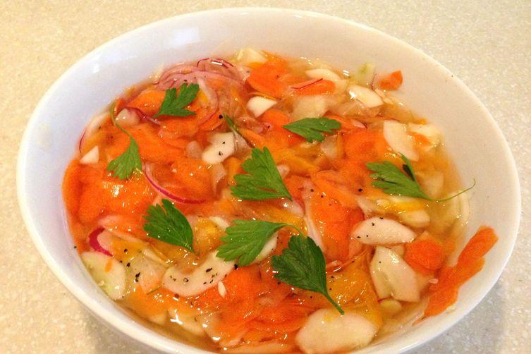 Harry's Wonderful Pickled VegetableSalad 1