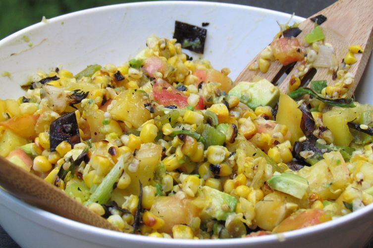 Grilled and Zesty Lime-Corn Salad 1