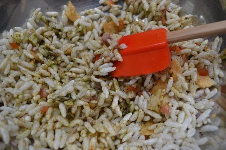 Snap Crackle Pop!! Bombay Bhelpuri