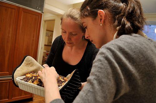 Bourbon Chocolate BreadPudding