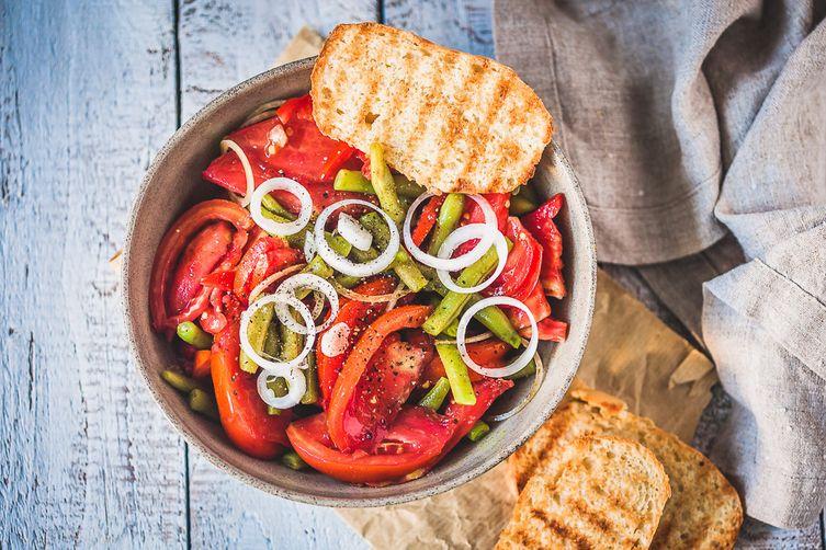 Italian Green Beans TomatoSalad 1