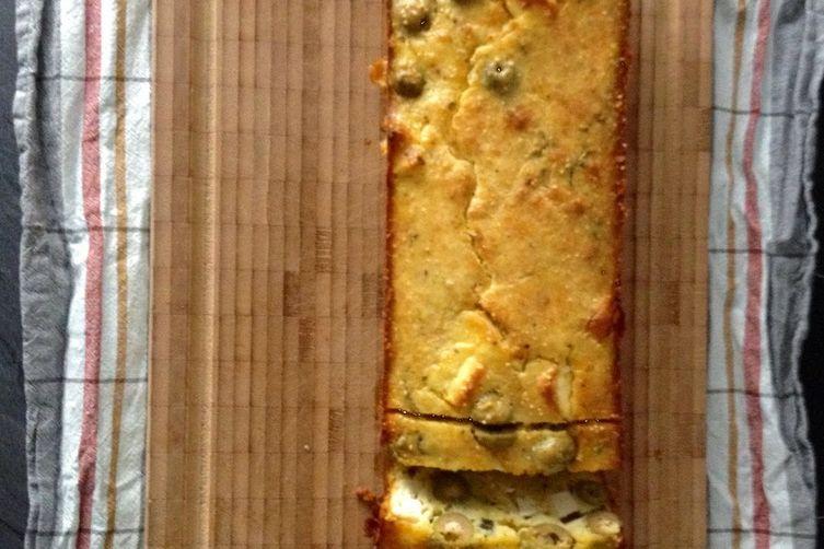 Olive & Feta Loafcake 1