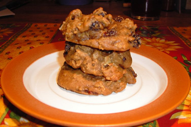 Oatmeal Cookies with Rum-soaked Raisins 1