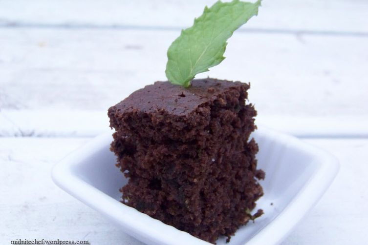 Mint Chocolate (Zucchini) Cake 1