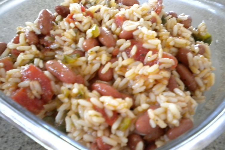 Monday's Red Beans and RiceSalad 1
