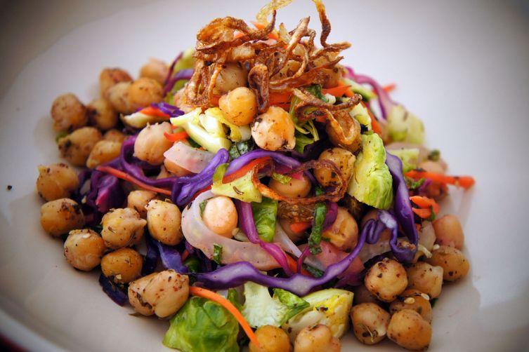 Roasted Chickpea Salad withZa'atar