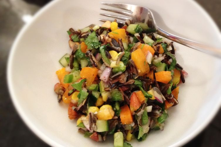 Spicy Wild Rice Salad 1