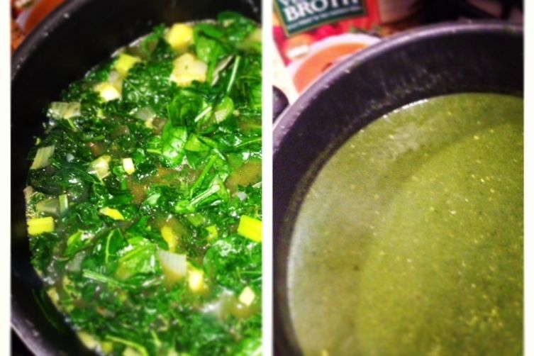 Hearty Green Soup 1
