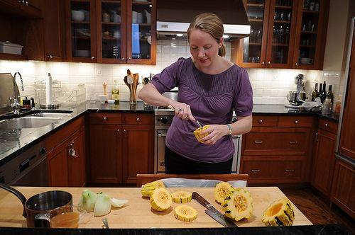 Crispy Delicata Rings With Currant, Fennel & AppleRelish