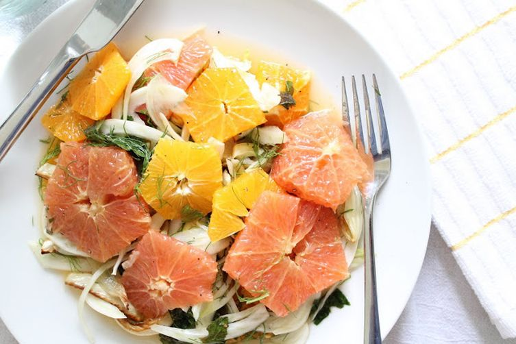 Citrus Salad with Roasted Fennel and Mint 1
