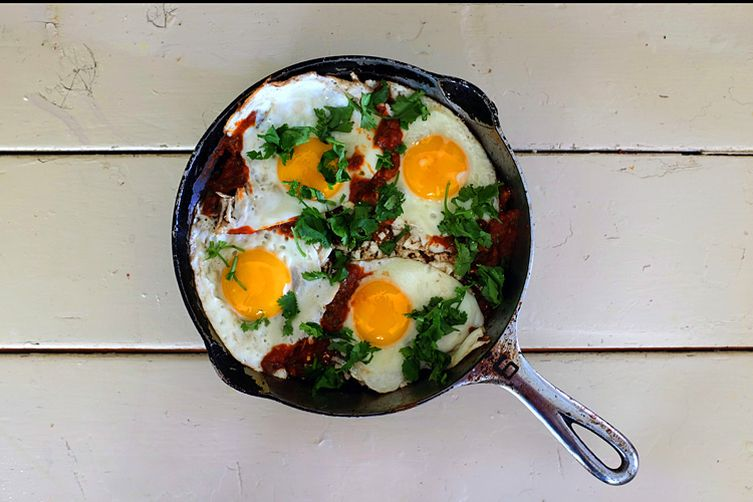 Smoky Red Chilaquiles 1